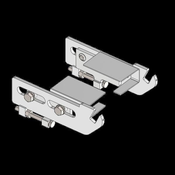 Seitenhalter für Umlenkwalze Ø40